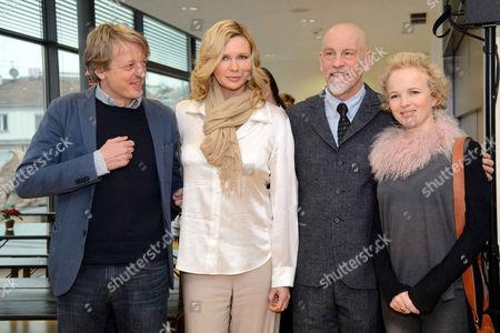 Stock Picture of Michael Sturminger, Veronica Ferres, John Malkovich, Kirstin Avemo