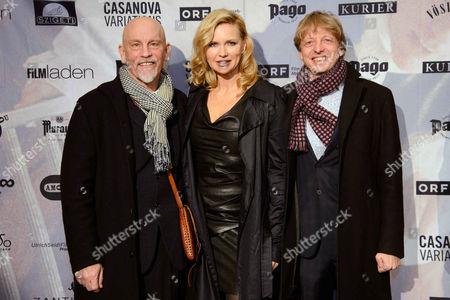 Editorial picture of 'Casanova Variations' film premiere, Vienna, Austria - 19 Jan 2015