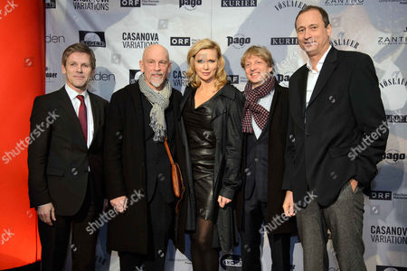 Josef Ostermayer, John Malkovich, Veronica Ferres, Michael Sturminger, Andreas Mailath-Pokorny
