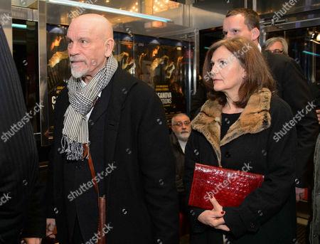 John Malkovich, Nicoletta Peyran