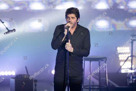 French singer Patrick Fiori