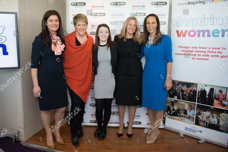 Editorial image of Inspiring Women in Sport launch, BT Tower, London, Britain - 20 Jan 2015