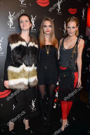 Chloe Delevingne, Cara Delevingne and Poppy Delevingne