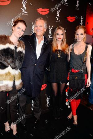 Chloe Delevingne, Charles Delevingne, Cara Delevingne and Poppy Delevingne