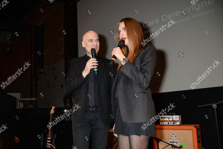 Stock Image of Stephan Bezy and Cara Delevingne
