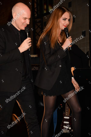 Stock Picture of Stephan Bezy and Cara Delevingne