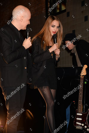 Editorial picture of Launch of Cara Delevingne & YSL Beaute at The Boiler House, London, Britain - 20 Jan 2015