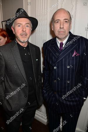 Tony James and Mick Jones