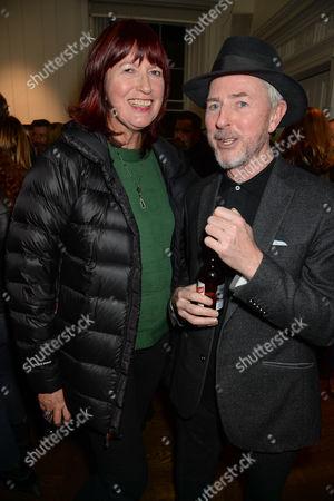 Janet Street-Porter and Tony James