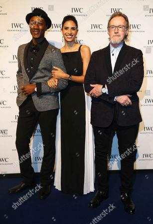 Aloe Blacc, Maya Jupiter and John Helliwell