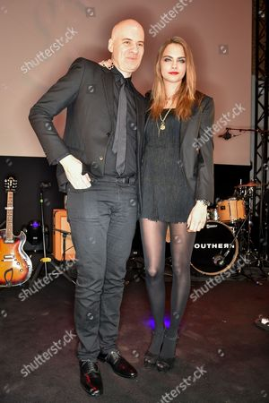 Stephan Bezy and Cara Delevingne