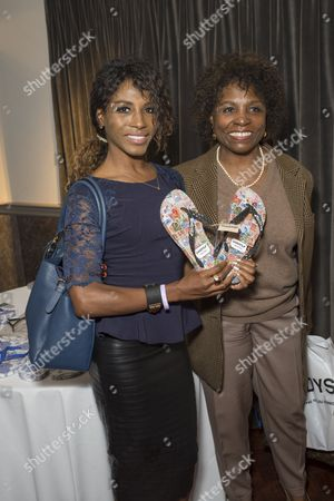 Sinitta and her mother Miquel Brown