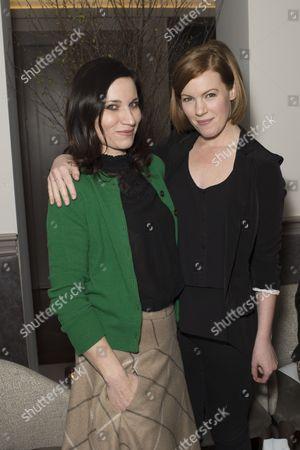 Kate Fleetwood and Niamh McGrady