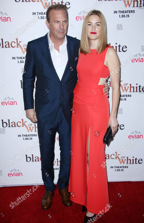Stock Picture of Kevin Costner with daughter Lily Costner