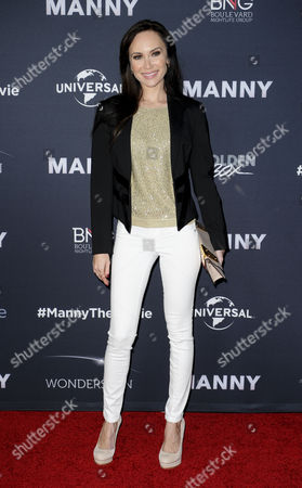 Editorial photo of 'Manny' film premiere, Los Angeles, America - 20 Jan 2015