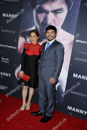 Manny Pacquiao and wife Jinkee Pacquiao