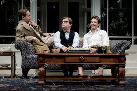 Geoffrey Streatfeild, Jonathan Broadbent and Julian Ovenden