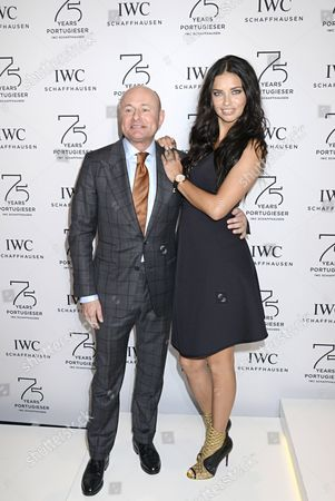 Editorial image of IWC 'Journey To The Stars' Gala Dinner at the 25th Salon International de la Haute Horlogerie, Geneva, Switzerland - 20 Jan 2015