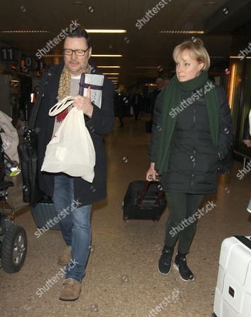 Stock Picture of Ian Puleston Davis and Sally Dynevor