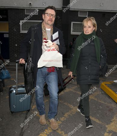 Ian Puleston Davis and Sally Dynevor