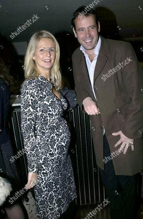 PREGNANT ULRIKA JONSSON AND LANCE GERRARD WRIGHT