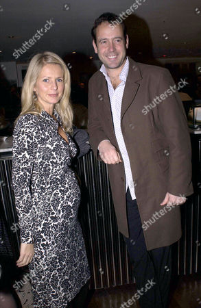 Stock Photo of PREGNANT ULRIKA JONSSON AND LANCE GERRARD WRIGHT