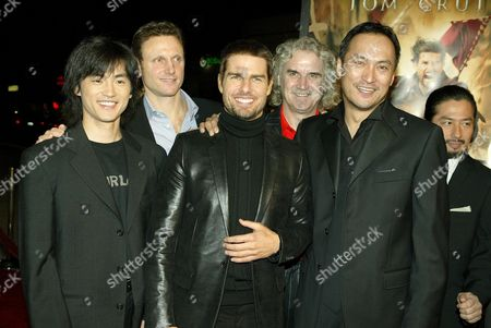 Shin Koyamada, Tony Goldwyn, Tom Cruise, Billy Connolly, Ken Watanabe and Hiroyuki Sanada