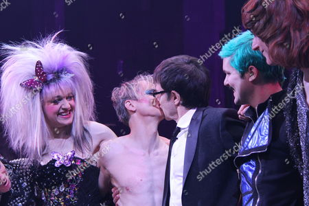 Editorial image of 'Hedwig and the Angry Inch' play, New York, America - 21 Jan 2015