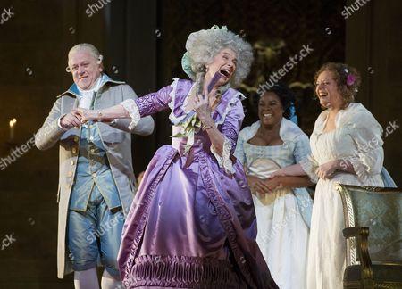 Peter Coleman-Wright as Pietro Fleville, Rosalind Plowright as Contessa de Coigny, Denyce Graves as Bersi, Eva-Maria Westbroek as Maddalena