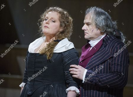 Eva-Maria Westbroek as Maddalena, Zeljko Lucuc as Gerard