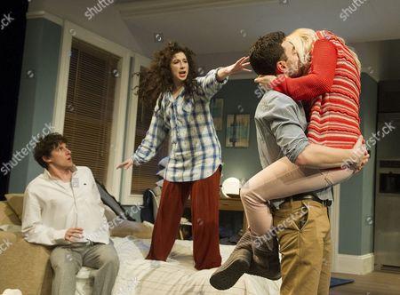 Joe Coen as Jonah, Jenna Augen as Daphna, Ilan Goodman as Liam, Gina Bramhill as Melody