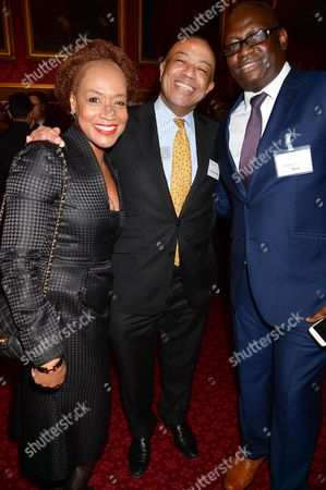 Editorial image of #UnitedAgstEbola Soiree at The State Rooms, House of Commons, London, Britain - 22 Jan 2015