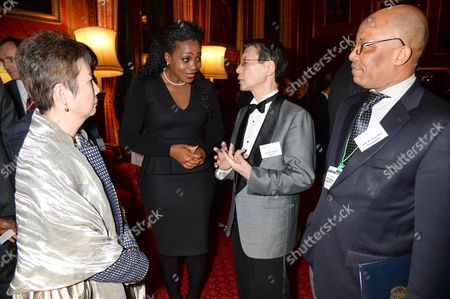 Stock Image of Akosua Essien, Keiichi Hayashi and Paul Goa ZoumaniguiAkosua Essien, Keiichi Hayashi and Paul Goa Zoumanigui