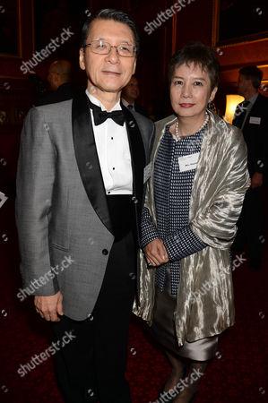 Keiichi Hayashi and Mrs Hayashi