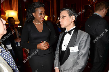 Editorial photo of #UnitedAgstEbola Soiree at The State Rooms, House of Commons, London, Britain - 22 Jan 2015