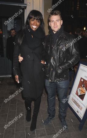 Lorraine Pascale and Guest