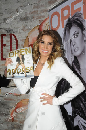 Editorial photo of Andrea Escalona 'Open' Cover Magazine Photocall, Mexico City, Mexico - 22 Jan 2015