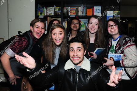 Chester See and fans