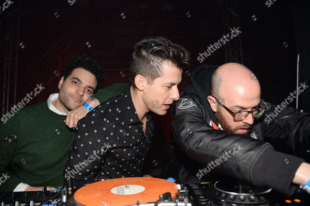 Editorial image of Mark Ronson 'Uptown Funk' album launch party, London, Britain - 23 Jan 2015