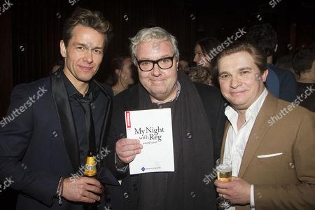 Julian Ovenden (John), John Sessions and Jonathan Broadbent (Guy)