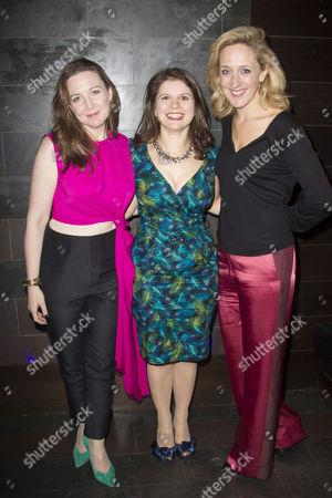 Josie Rourke (Artistic Director), Eleanor Lloyd (Producer) and Kate Pakenham (Executive Producer)