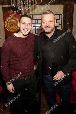 Editorial image of 'The Big Fish Off' TV Reality show launch party, Sugar Hut, London, Britain - 23 Jan 2015