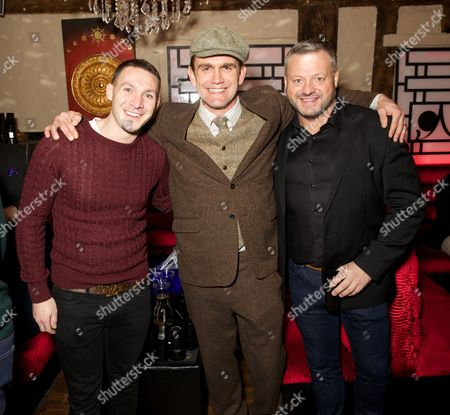 Editorial photo of 'The Big Fish Off' TV Reality show launch party, Sugar Hut, London, Britain - 23 Jan 2015