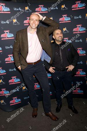 Dean Macey and Ali Hamidi