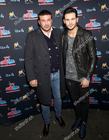 Editorial picture of 'The Big Fish Off' TV Reality show launch party, Sugar Hut, London, Britain - 23 Jan 2015