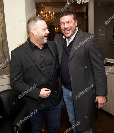 Mick Norcross and Tamer Hassan