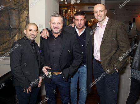 Ali Hamidi, Mick Norcross, Tamer Hassan and Dean Macey