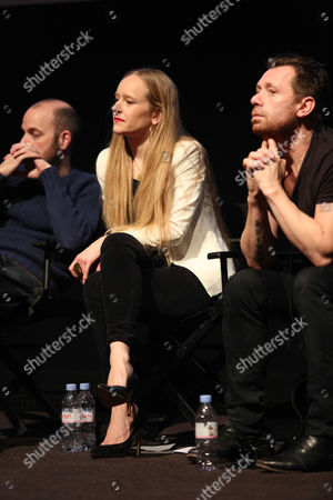 Stock Photo of Ellis Parrinder, Emma Blau and Ian Derry