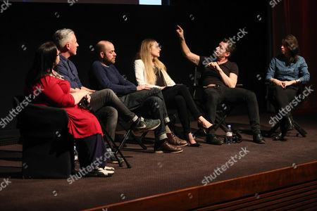 Stock Image of Janette Dalley, Rich Hardcastle, Ellis Parrinder, Emma Blau, Ian Derry and Jessie Craig
