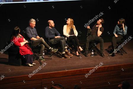 Janette Dalley, Rich Hardcastle, Ellis Parrinder, Emma Blau, Ian Derry and Jessie Craig